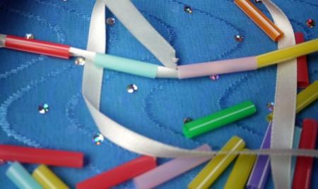 Child's Drinking Straw Necklace