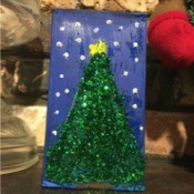 Christmas Box Decoration