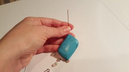 Easy Bead Pendant