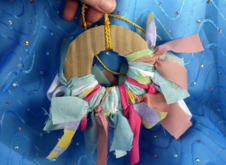 Mini Rag Wreath