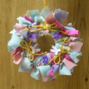 Mini Rag Wreath