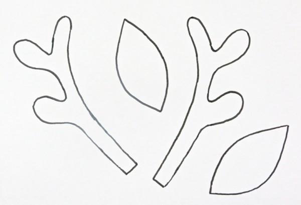 Christmas Reindeer Headband Steps