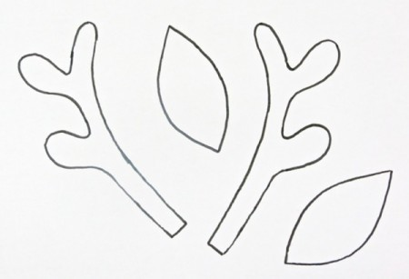 Clean image throughout printable antlers