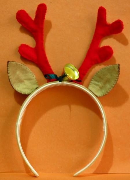 Christmas Reindeer Headband