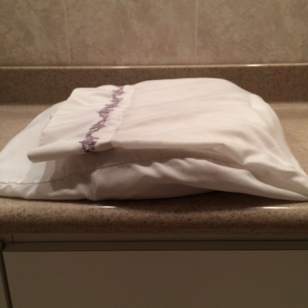 Store Sheets in Pillowcase