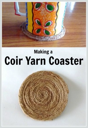 Making a Coir Yarn Coaster