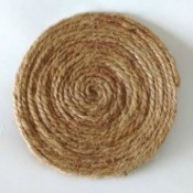 Coir Yarn Coaster