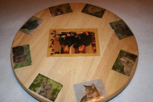 Decoupaging Photos On Wood Thriftyfun