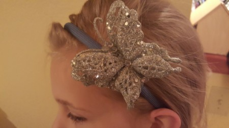 Dollar Store Decorated Headband