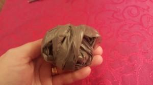 small ball of plarn