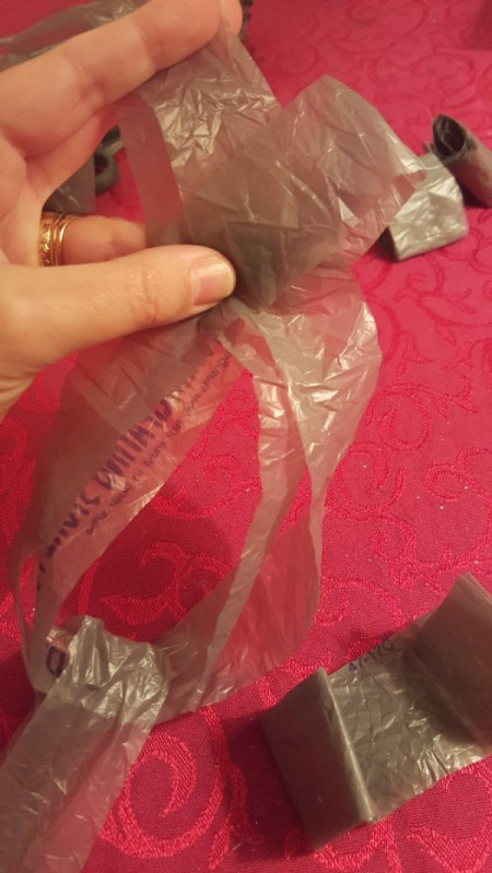 Making Yarn From Plastic Bags