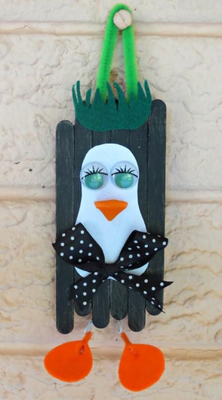 Waddling Penguin Christmas Decoration