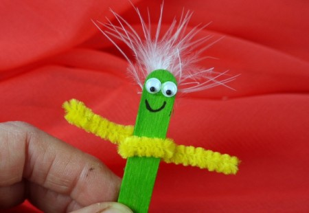 Lolly or Popsicle Stick Puppets