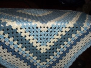 Granny Square Afghans from Leftover Yarn