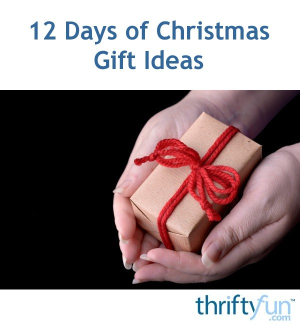 12 days of christmas gift ideas thriftyfun