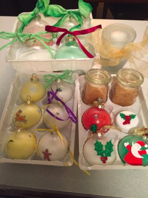 Christmas Bath Salts