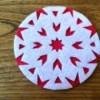 Felt Snowflake Coaster