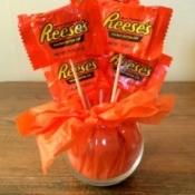 Mini Pumpkin Candy Bouquet