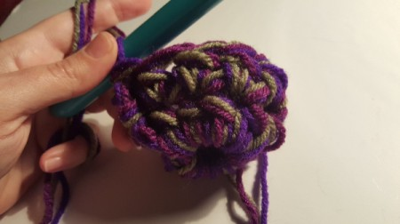 Thick Crocheted Slippers - Ch 2, 1 hdc in each stitch around, join to your first ch 2