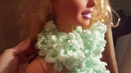 Toddler Crochet Boa Scarf