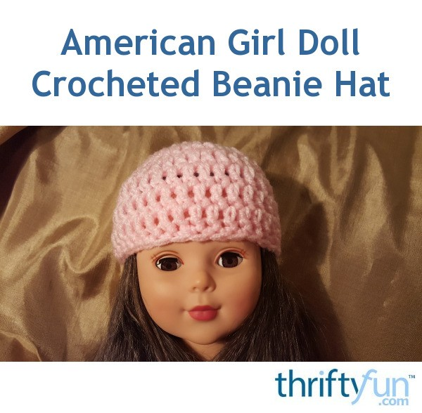 how to make a doll beanie