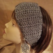 Basic Crochet Winter Headband