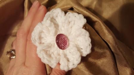 Easy Crochet Treble Flower