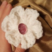 Easy Crochet Treble Flower