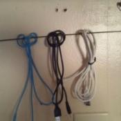 Making a Clothes Hanger Wire Organizer