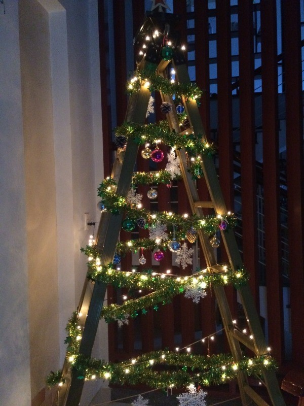Christmas Tree Alternative.Alternatives To Having A Christmas Tree Thriftyfun