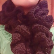 Three Step Crochet Scarf