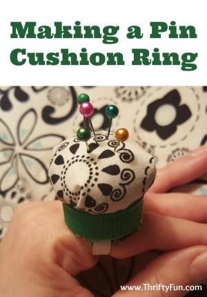 Making a Pin Cushion Ring