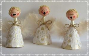 Miniature Singing Angel Choir