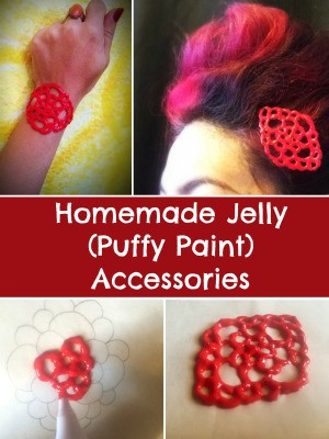 Homemade Jelly (Puffy Paint) Accessories
