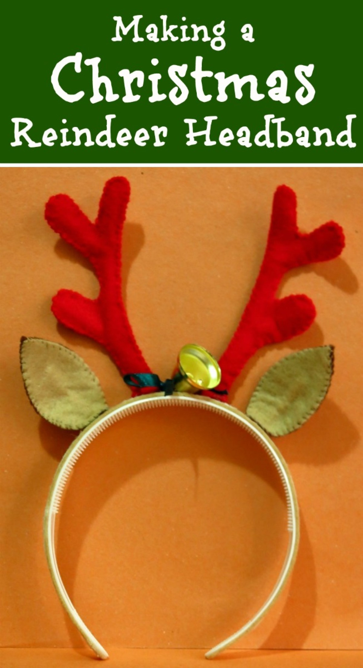 Christmas Headband Craft.Making A Christmas Reindeer Headband Thriftyfun