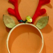 Christmas Reindeer Headband