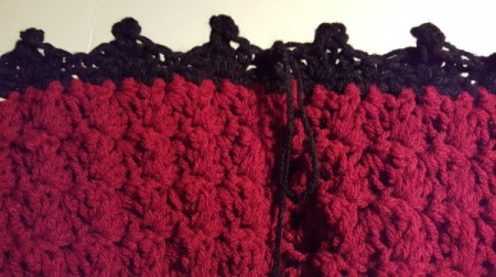 Picot Infinity Scarf