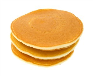 Reheating Pancakes