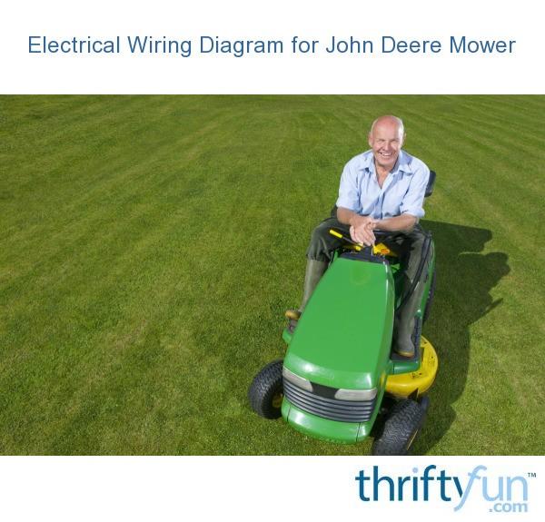 Electrical Wiring Diagram for John Deere Mower | ThriftyFun on