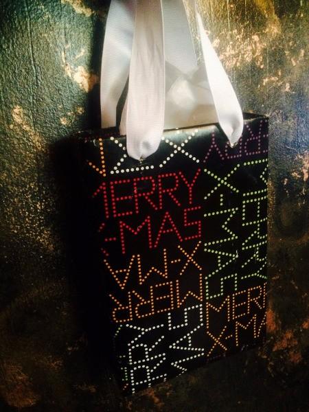 Upcycled Food Box Gift Bag