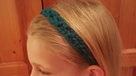 Sweet And Simple Crochet Headband