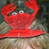 Paper Plate Crab Hat