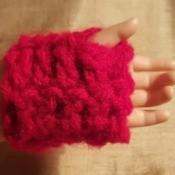 Crochet Fingerless Gloves for American Girls