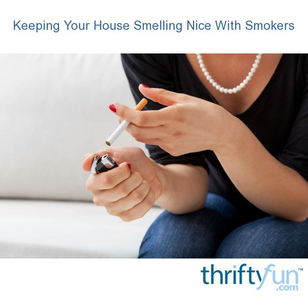 Keeping Your House Smelling Nice With Smokers | ThriftyFun