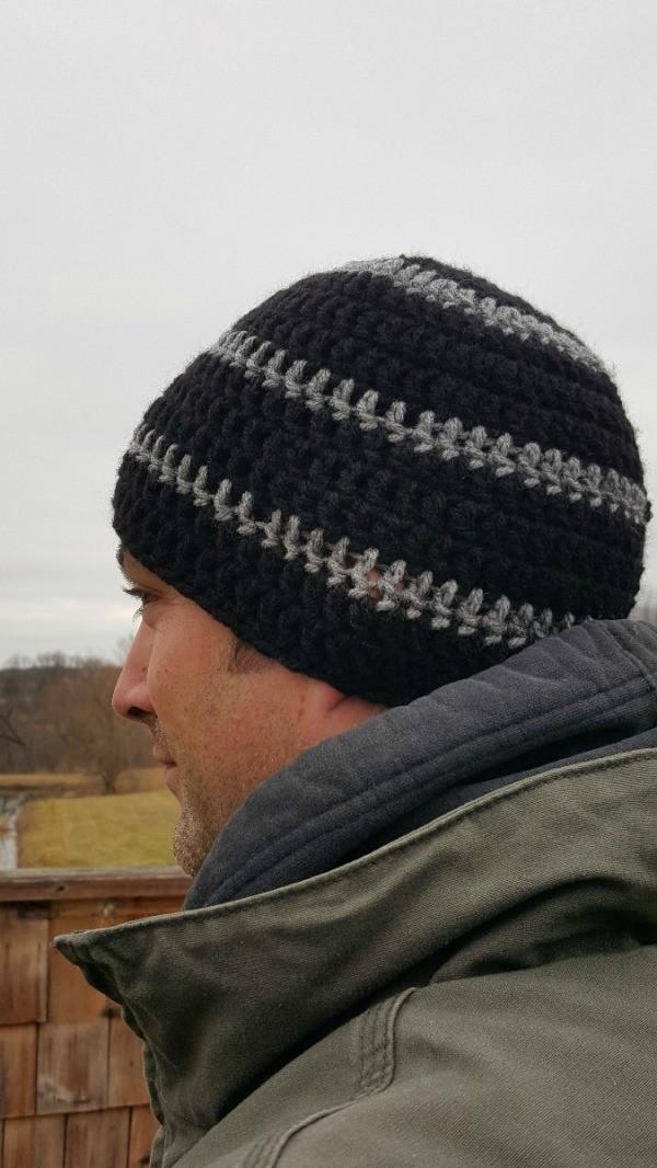 How To Make A Mens Crocheted Skull Cap Thriftyfun