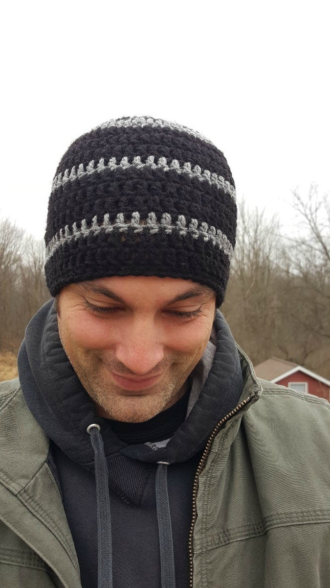 Your Opinion was Not in My Recipe Skull Caps Beanie for Mens Black