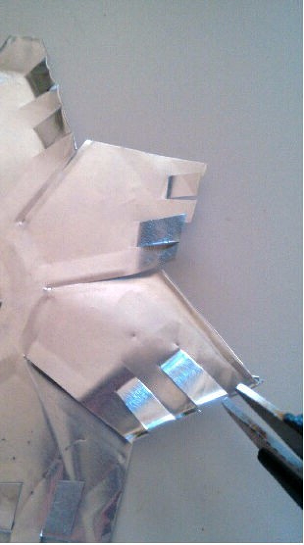 Aluminum Pie Pan Snowflake Thriftyfun