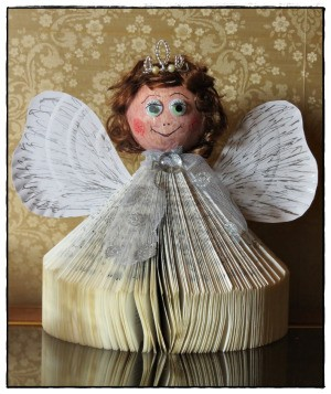 Old Church Songbook Christmas Angel