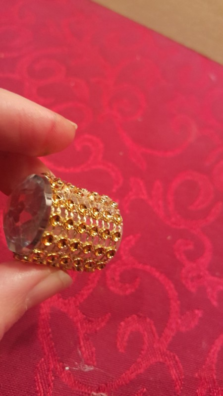 Bottle Top Thimble - ready to use