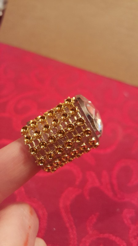 Bottle Top Thimble - try it out